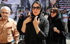 تصاویر/ حاشیه و متن مراسم ختم عزتالله انتظامی